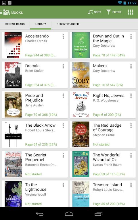 Aldiko Book Reader 3.1.3 Screen 13