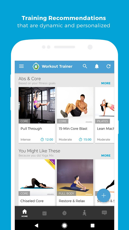 Android Workout Trainer: fitness coach Screen 11
