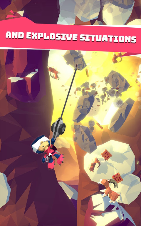 Android Hang Line: Mountain Climber Screen 3