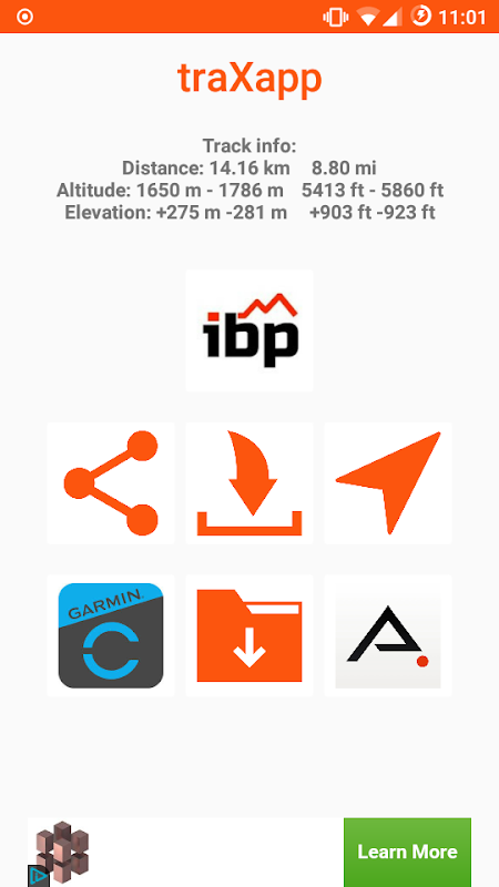 Tool for download GPX files from Strava™, Google Maps™ and