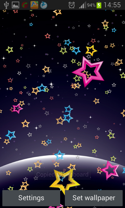 Stars Live Wallpaper 4.0 Screen 5