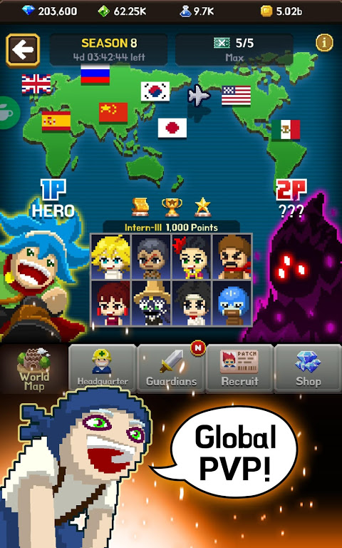 Android Videogame Guardians Screen 9