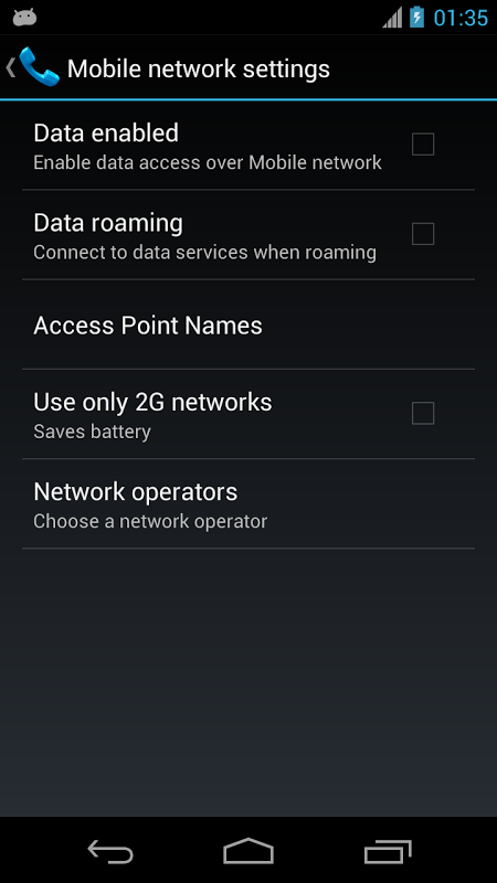 Mobile Network Settings 1 2 APK Download by diewland | Android APK