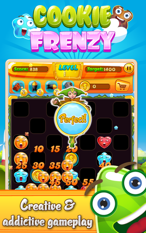 Android Cookie Frenzy Screen 2