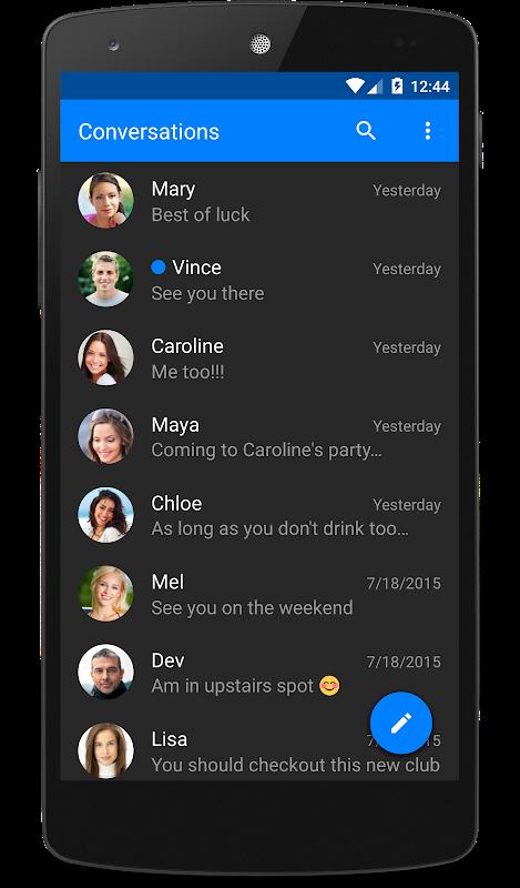 chomp SMS 8.10 Screen 2