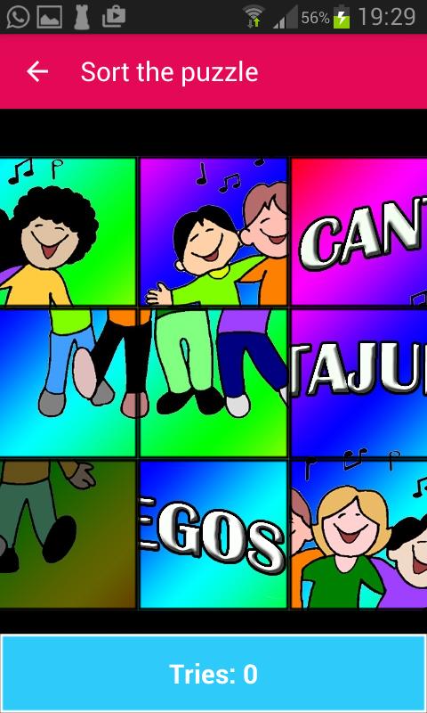 Android Cantajuegos Screen 7