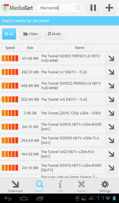 MediaGet 0.9.1 Screen 12