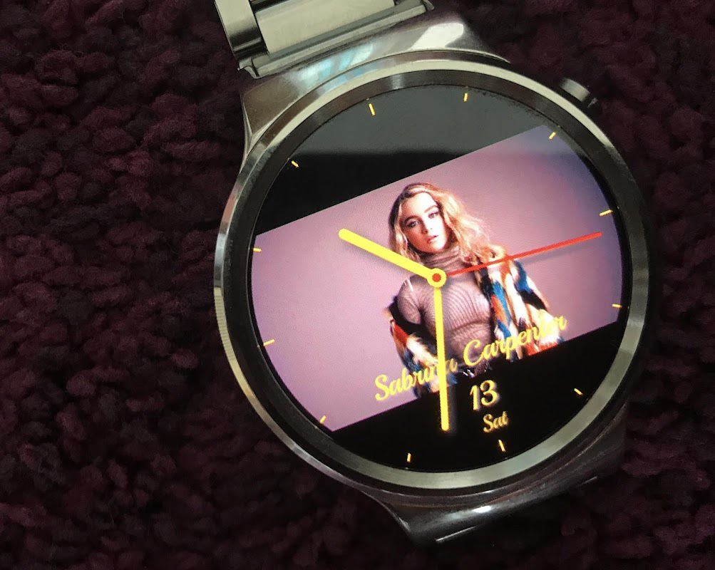 Android Photo Watch 2 (Wear OS) Screen 1