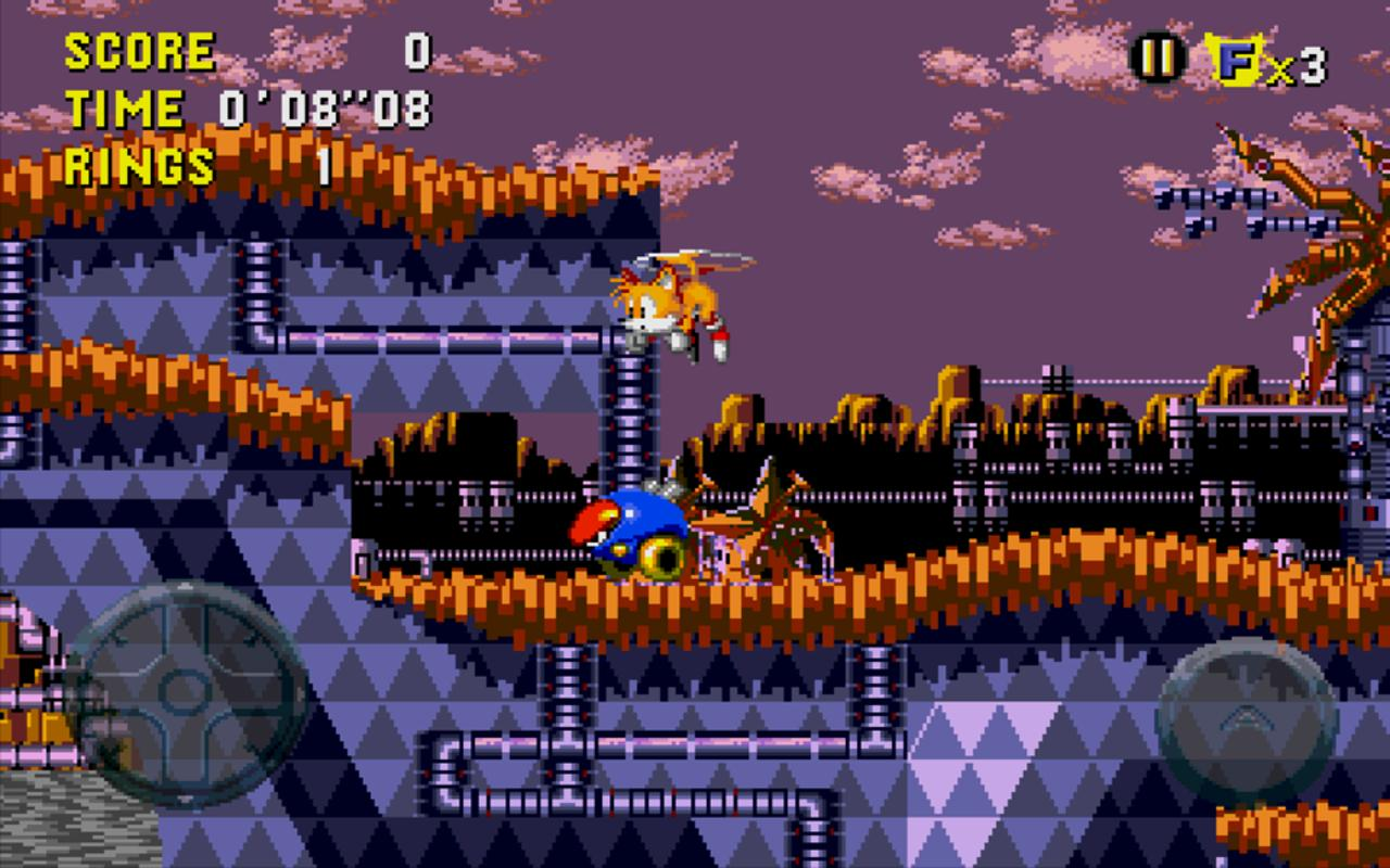 Android Sonic CD Screen 8