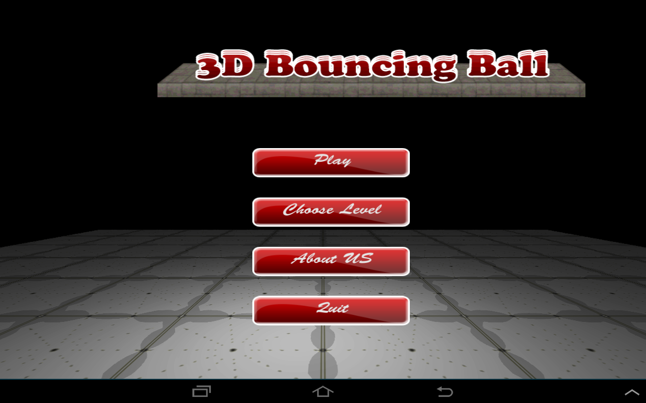Android 3D Bouncing Ball Free Screen 1