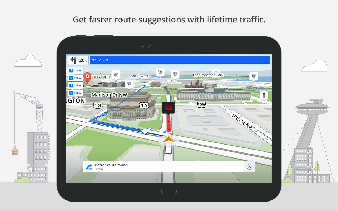 GPS Navigation & Maps Sygic 17.0.7 Screen 10