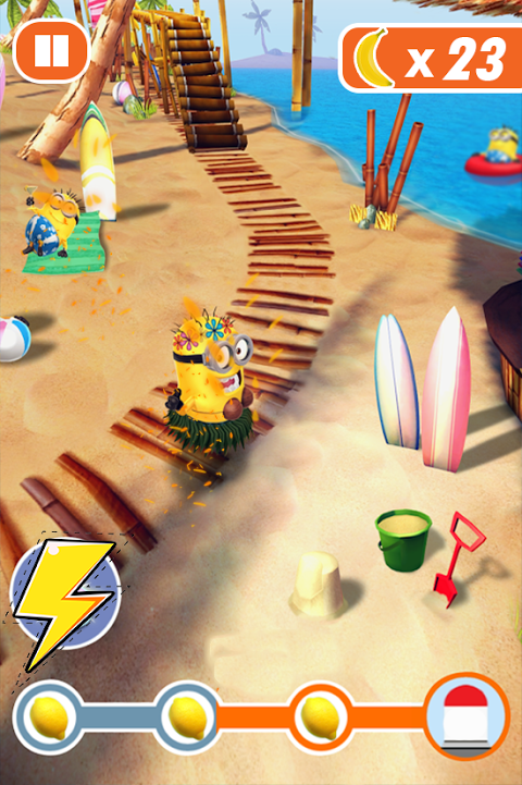 Banana Minion Adventure Rush : Legends Rush 3D 4.1 Screen 2