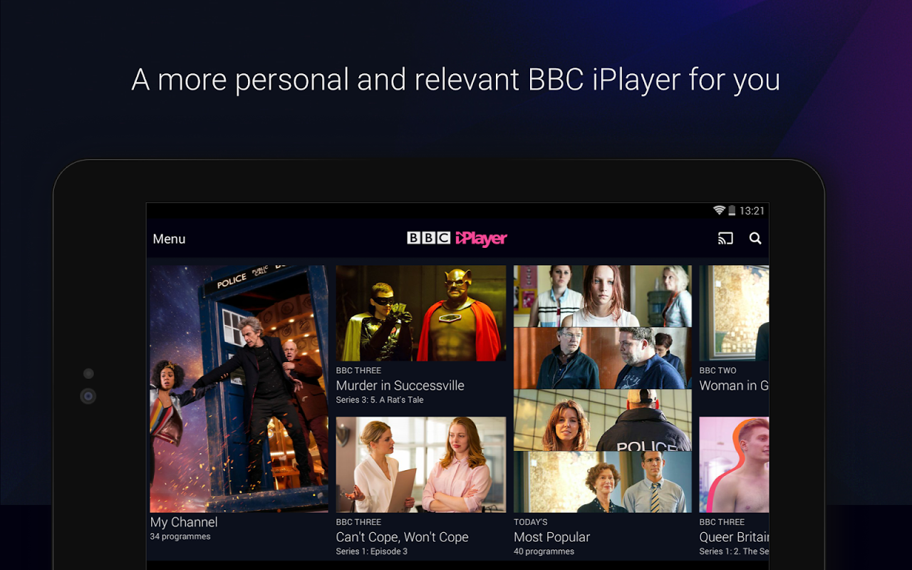 BBC iPlayer 4.38.0.3 Screen 8