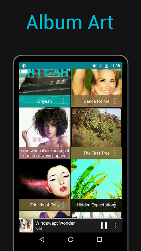 Rocket Player : Music Player 5.6.38 Screen 1