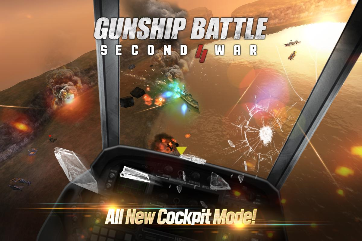 Android GUNSHIP BATTLE: SECOND WAR Screen 2