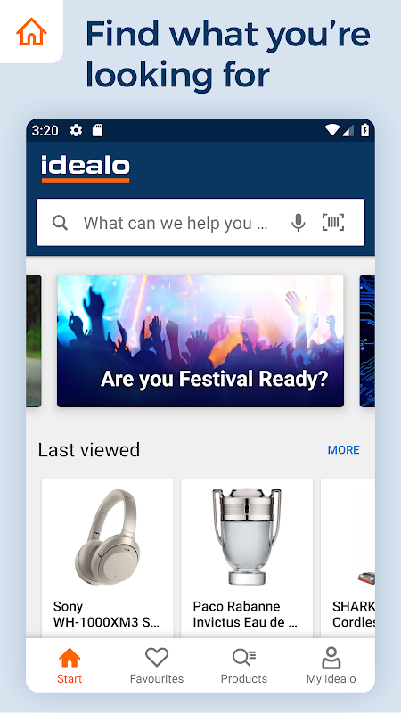 idealo - Price Comparison & Mobile Shopping App 11.2.1-BETA Screen 1