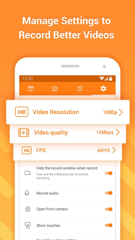 DU Recorder � Screen Recorder & Video Editor 1.7.5.2 Screen 12