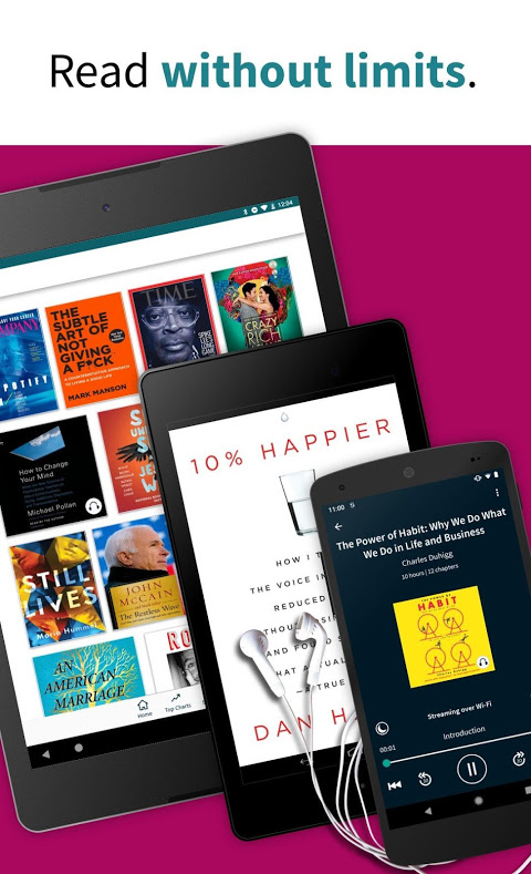 Scribd - Reading Subscription 8.12.1 Screen 1