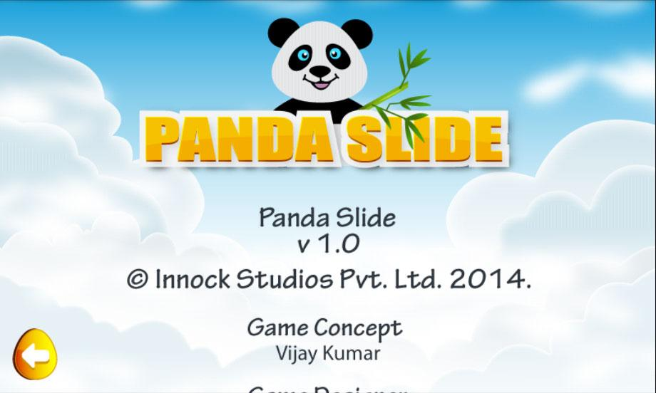 Android Panda Slide Screen 1