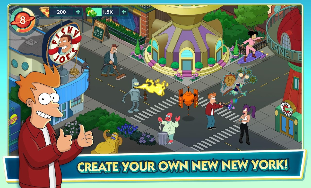 Android Futurama: Worlds of Tomorrow Screen 8