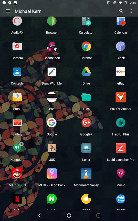 Android Lucid Launcher Pro Screen 4