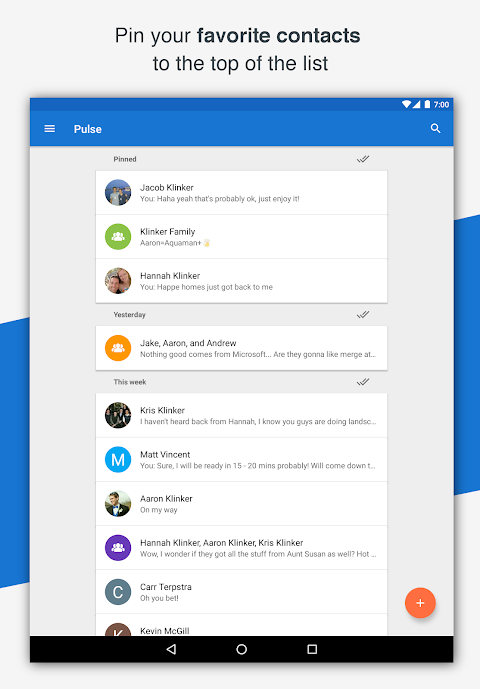 Android Pulse SMS (Phone/Tablet/Web) Screen 18