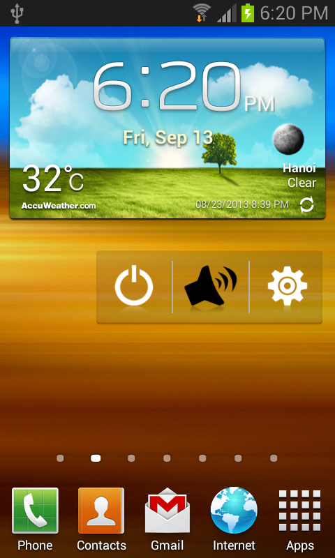 Android Smart Call Accept Screen 1