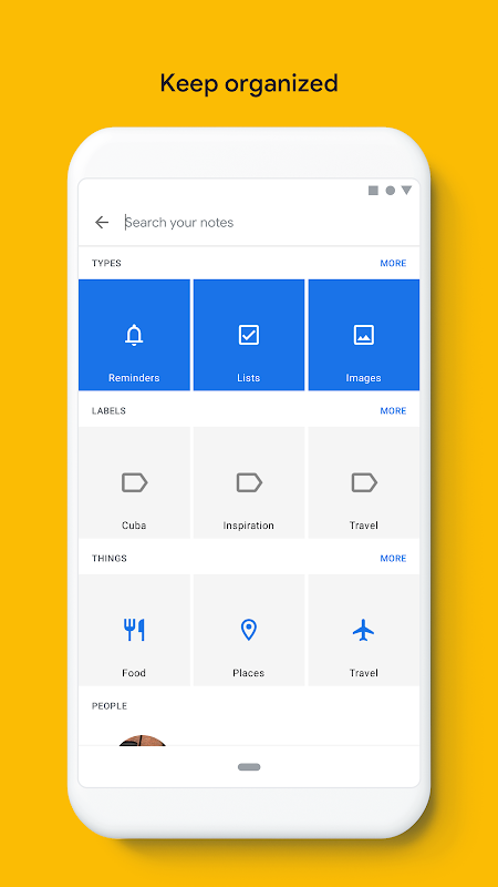 Google Keep - Notes and Lists 5.0.441.03.40 Screen 7