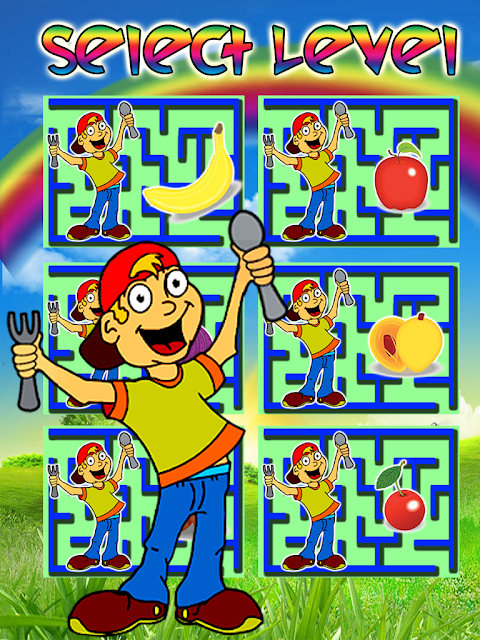 Android Kids Maze : Educational Kids Game Screen 2