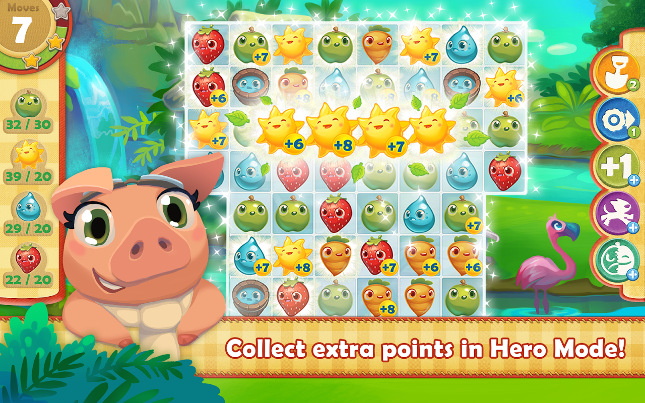 Android Farm Heroes Saga Screen 1