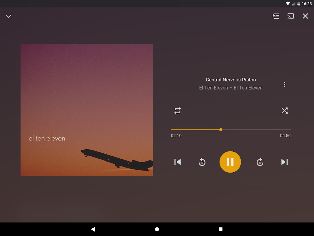Android Plex Screen 10