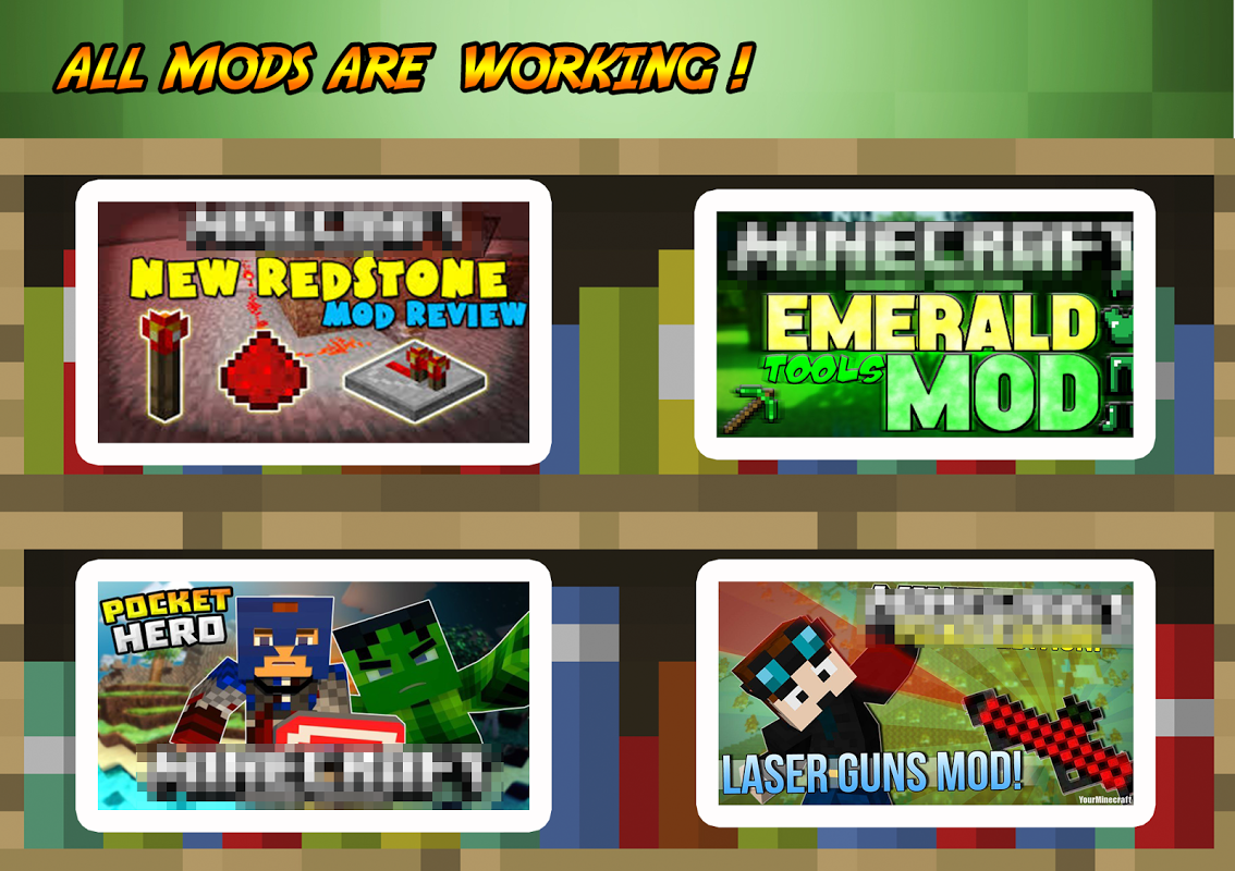 Android Addons & Mods for Minecraft PE Screen 1