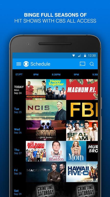 CBS - Full Episodes & Live TV 6.0.2 Screen 1