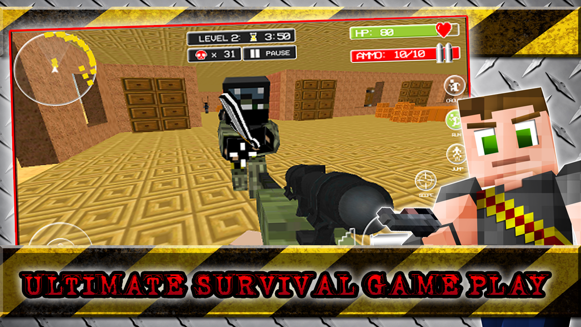 Android Hide N Seek Survival Craft Screen 1