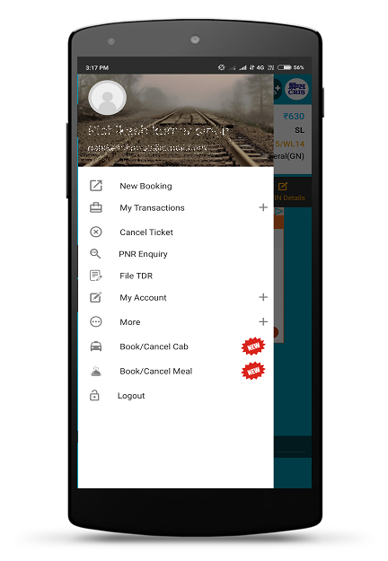 IRCTC Rail Connect 2.1.39 Screen 7