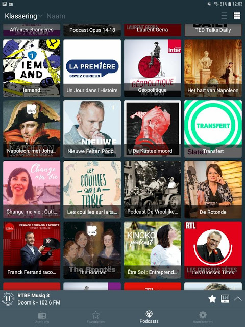 Belgium Radio Live: Radio FM & Radio Online 2.2.32 Screen 6