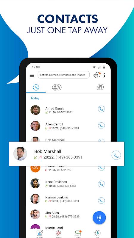 Android CallApp: Caller ID, Call Blocker & Recording Calls Screen 1