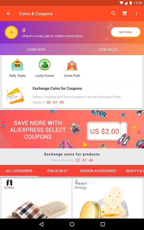 AliExpress Shopping App- $100 Coupons For New User 7.4.1-playgo Screen 5