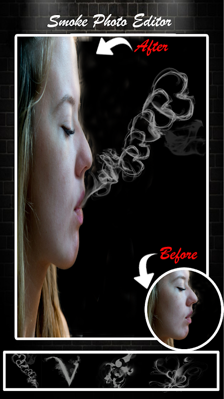 Smoke Photo Editor - Real Smoke Effect On Photo 1.1 Screen 2