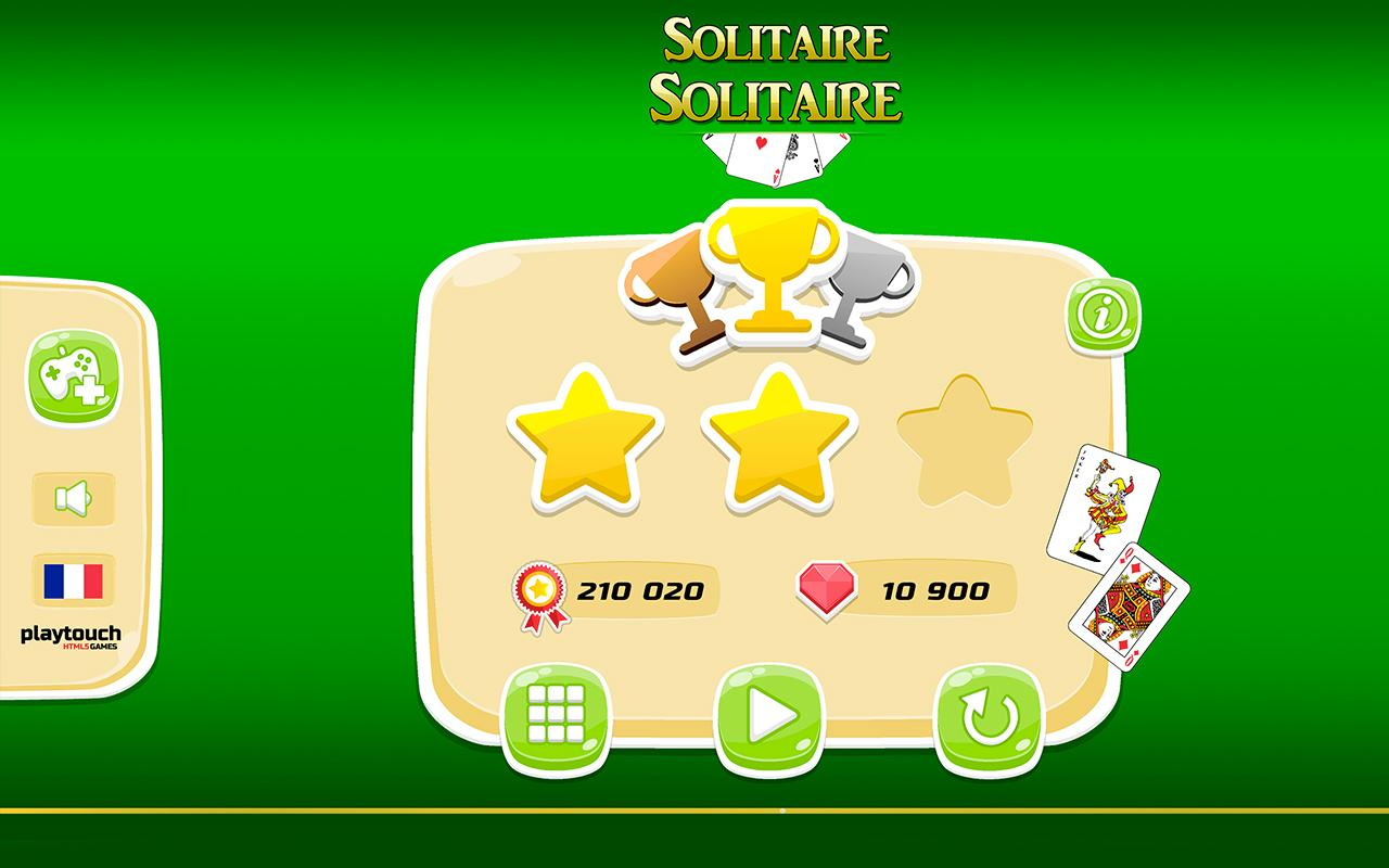 Android Solitaire Solitaire Screen 3