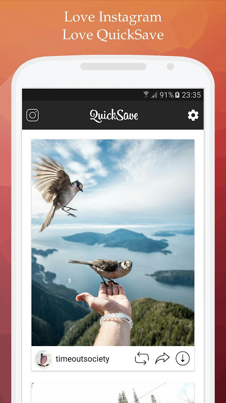 QuickSave for Instagram 2.2.9 Screen 6