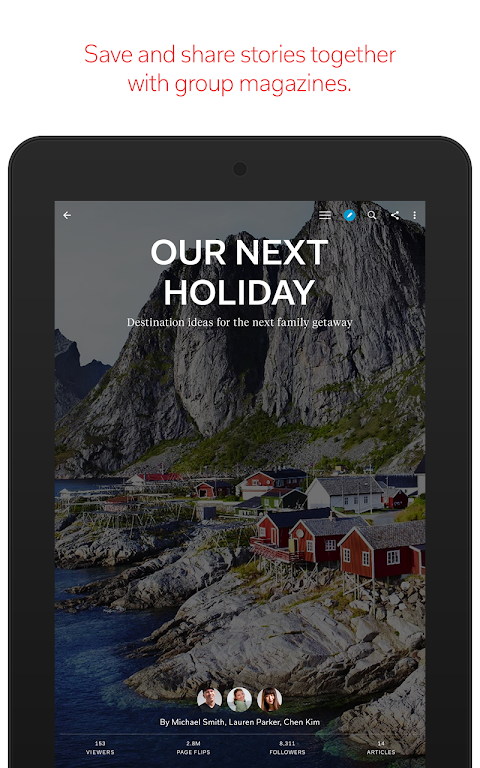 Android Flipboard: News For Any Topic Screen 15