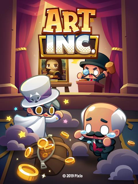 Art Inc. - Trendy Business Clicker Adventure 1.11.4 Screen 3