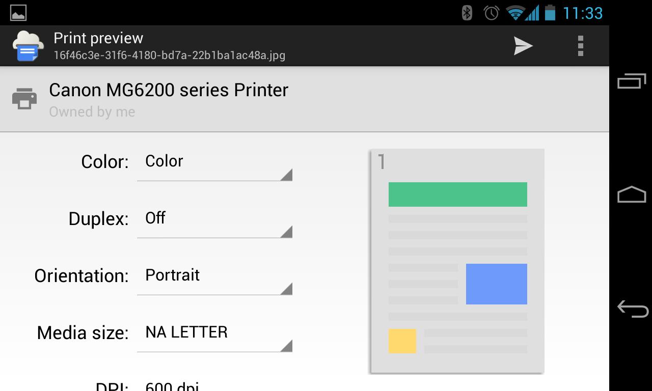 Cloud Print 0.9.2 Screen 14