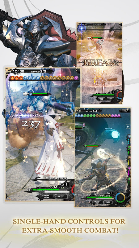 Android MOBIUS FINAL  FANTASY Screen 1
