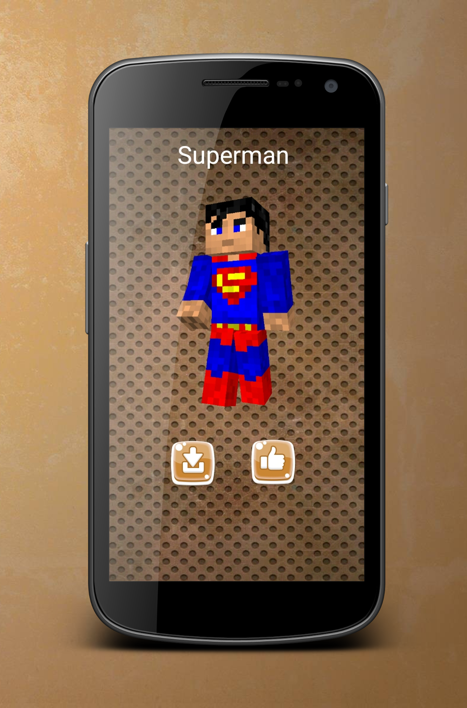 Android Superhero Skins for Minecraft Screen 8
