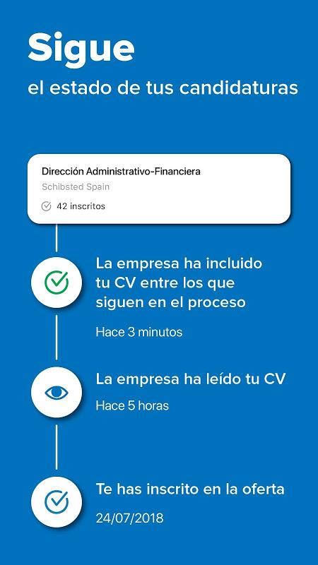 InfoJobs - Job Search 2.95.1 Screen 5