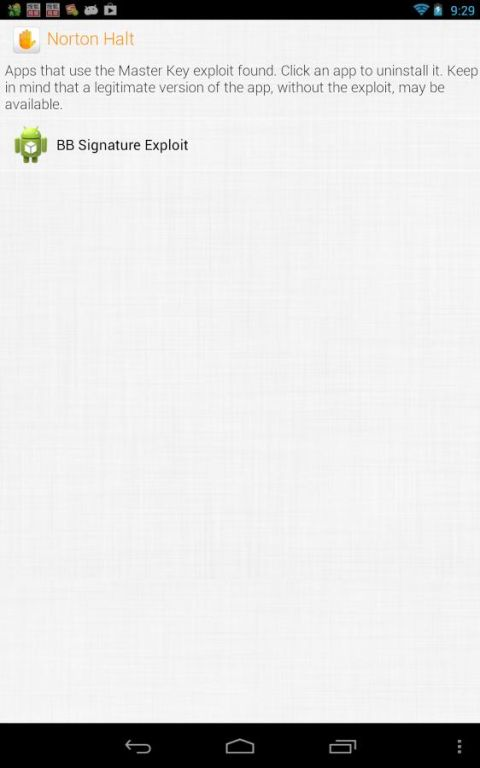 Norton Halt exploit defender 6.4.0.236 Screen 15