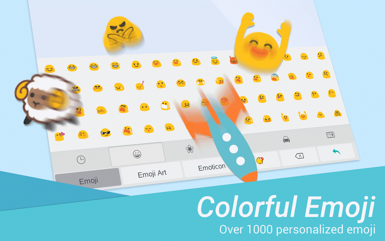 TouchPal Emoji Keyboard 6.1.4.5 Screen 1