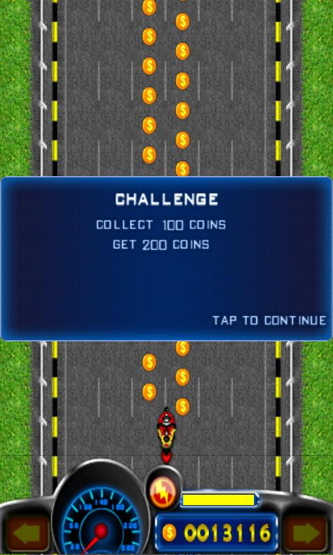 Android Extreme Moto Racing Screen 2